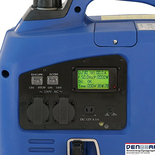 Denqbar DQ2200 digitaler Inverter Stromerzeuger 2,2 kW - 5