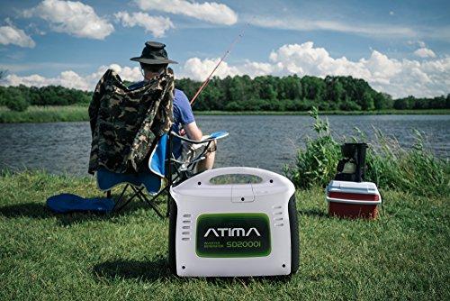Atima SD2000i Inverter Stromerzeuger 2 kW - 7