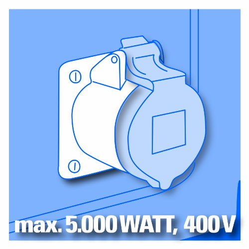 Einhell BT-PG 5000 Stromerzeuger 4,2 kW - 7