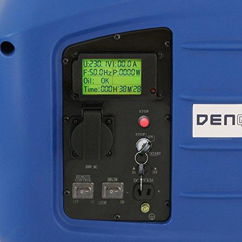 Denqbar DQ2800ER digitaler Inverter Stromerzeuger mit Funk 2,8 kW - 4