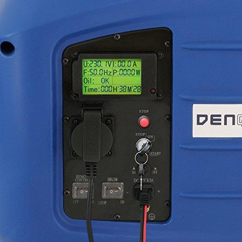 Denqbar DQ2800ER digitaler Inverter Stromerzeuger mit Funk 2,8 kW - 5