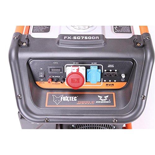 Fuxtec Stromerzeuger FX-SG7500A 6500 W - 7
